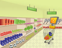 Het Winkelen van de elektronische handel Stock Afbeeldingen