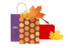 Het Winkelen van de herfst Royalty-vrije Stock Foto's