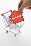 Het winkelen van de hypotheek Royalty-vrije Stock Afbeelding