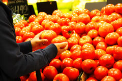 Het winkelen van de kruidenierswinkel Stock Foto