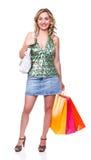 Het winkelen van de liefde Stock Fotografie