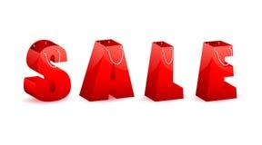 Het Winkelen van de verkoop Zak Stock Afbeeldingen