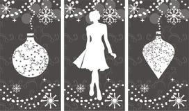 Het winkelen van de winter Vector Illustratie