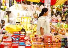 Het Winkelen van het festival Royalty-vrije Stock Afbeeldingen