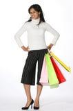 Het winkelen van het meisje Royalty-vrije Stock Afbeeldingen