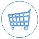 Het winkelen van het Web vector illustratie