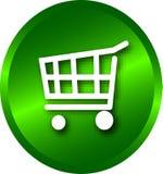 Het winkelen van het Web Stock Afbeeldingen