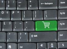 Het winkelen van Internet Royalty-vrije Stock Foto's
