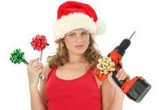 Het Winkelen van Kerstmis Stock Foto