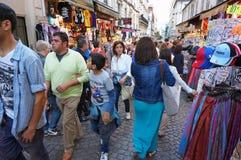 Het Winkelen van Parijs Frankrijk Waanzin Royalty-vrije Stock Fotografie