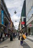 Het winkelen van Stockholm Stock Foto
