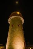Het winkelen van Verona de nacht van de baksteentoren Stock Foto's