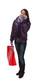Het winkelen van vrouwen stock fotografie