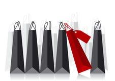 Het winkelen zak stock illustratie