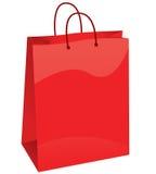 Het winkelen zak Stock Foto's