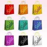 Het winkelen Zakken Royalty-vrije Stock Afbeeldingen