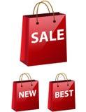 Het winkelen zakpictogram Stock Foto