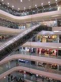 Het winkelende centrum van Hongkong stock afbeelding