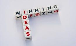 Het winnen ideeën Royalty-vrije Stock Afbeeldingen
