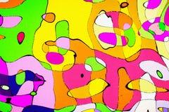 Het wiskundige patroon van de ornamentgrafiek Royalty-vrije Stock Foto's