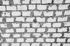 Het wit blokkeert Muur stock afbeeldingen