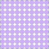 Het wit en het parfum kleurden grote patern raaklijnpunten vector illustratie