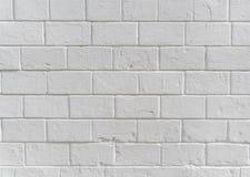 Het wit schilderde concrete van de blokmuur textuur als achtergrond royalty-vrije stock fotografie