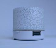 Het Wit van de de Muziekspreker van Bluetooth Dolby Royalty-vrije Stock Foto's