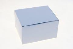 Het wit van de doos Stock Foto's