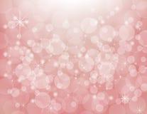 Het wit van de groepskleur op roze achtergrond Stock Foto's