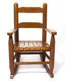 Het Wit van de Schommelstoel van Childs Stock Afbeelding