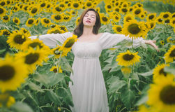 Het wit van de vrouwenkleding Stock Afbeeldingen