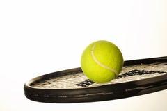 Het wit van het tennis Stock Afbeeldingen