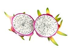 Het witte Fruit van de Draak (Pitaya) Royalty-vrije Stock Foto's
