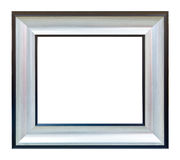 Het witte geïsoleerde frame van het fotobeeld Stock Afbeelding