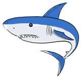 Het witte Haai Schilderen Royalty-vrije Stock Fotografie