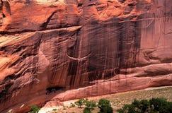 Het Witte Huis ruïneert Canyon DE Chelly Royalty-vrije Stock Fotografie