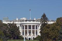 Het Witte Huis: Telescopische Mening Stock Foto