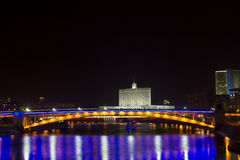 Het witte Huis van de overheid van de Russische Federatie Royalty-vrije Stock Afbeeldingen