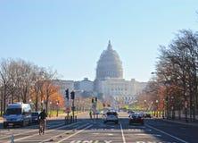 Het Witte Huis van Washington D C De V.S., Stock Afbeelding
