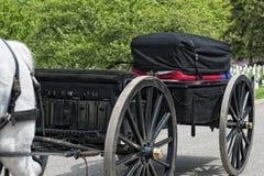 Het Witte Huis van Washington D C , De V.S. - 2 MEI, 2014 - het Leger mariene begrafenis van de V.S. bij Arlington-begraafplaats stock afbeelding