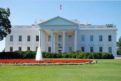 Het Witte Huis in Washington DC Stock Foto