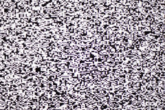 Het witte lawaai van TV op lcd het scherm royalty-vrije stock fotografie