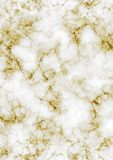 Het witte Marmer met Goud schittert vector illustratie