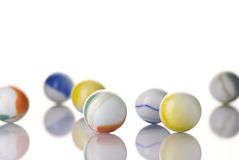Het witte Marmer van het Stuk speelgoed Royalty-vrije Stock Foto's