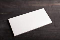 Het witte model van het chocoladereeppakket Royalty-vrije Stock Foto
