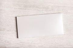 Het witte model van het chocoladereeppakket Stock Fotografie