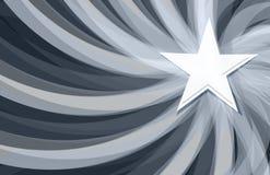 Het witte ontwerp van de begin grafische illustratie Stock Fotografie