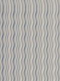Het witte patroon van de golfband abstracte oppervlakte het 3d teruggeven Royalty-vrije Stock Fotografie