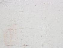 Het witte pleister barstte naadloze textuur voor achtergrond Stock Afbeeldingen